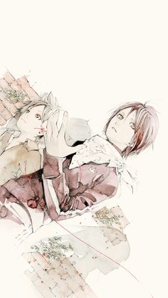 Yato and Yukine | Noragami | ♤ Anime ♤