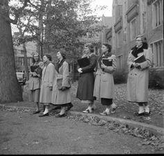 Wellesley College, October 10, 1949 Photographer:Nina Leen