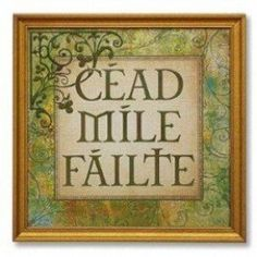 The wit and wisdom, humor and hope of the Irish have found their way into quotes, saying, blessings, prayers and toasts to spread a bit of cheer.  These snippets and pearls of wisdom continue to be passed down and used to celebrate, to toast and to...