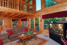 Altitude Adjustment is a two story, two bedroom, two bath cabin located in Wildwood Forest, which is just minutes from downtown Gatlinburg and Pigeon Forge Tennessee.
