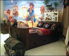 I'd put Cptn. Jack Sparrow...Nautical Furniture | ... pirate themed furniture - nautical theme decorating ideas - Peter Pan