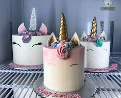 unicorn cakes, family unicorn