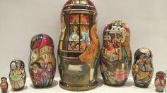 Купить Щелкунчик - матрешка роспись, подарок, подарок на новый год, щелкунчик, русский стиль