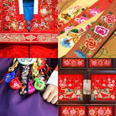 #Jasu is Korean traditional embroidery produced delicately and gracefully. It enhances the beauty of Korean traditional costumes and furniture by achieving harmony with the color and the line.  Imagine your Korea!  #ImagineyourKorea #KStyle #VisitKorea #SouthKorea #Embroidery