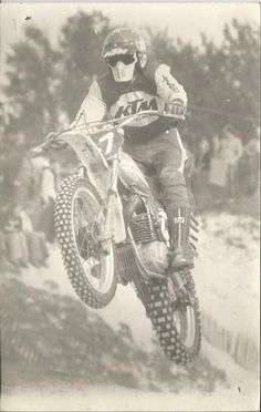 Motocross vintage