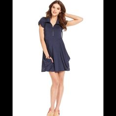 """Classic Chic HP!Darling Kensie Dress! NWOT Black Kensie NWOT Extremely flattering to all body types. Slash pockets and drapes beautifully. Very comfy! Great with heels, flats, tights and boots - versatile! Length is 35"""". Hips laying flat is 21"""" for a great swing effect. Kensie Dresses"""