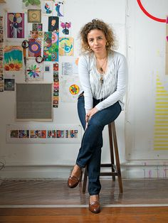 From her studio in Rio, Beatriz Milhazes colors the world in her own abstract language.