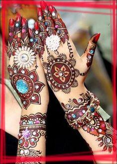 Latest Bridal Mehndi Designs for Biggners 2012-06