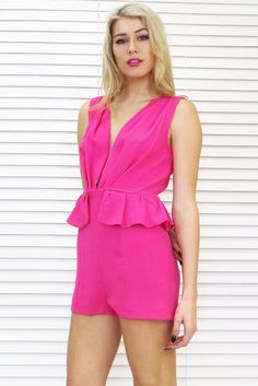 Pink Smiles All Round Romper