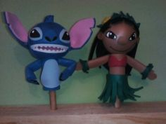 Little Stitch, Luigi, Smurfs, Fictional Characters, Disney, Styrofoam Ball, Costumes, Diy Crafts, Decorations