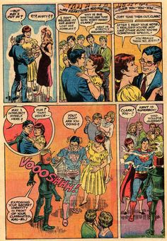 A strange story of Superboy and his Robot Teacher | via Comic Book Resources