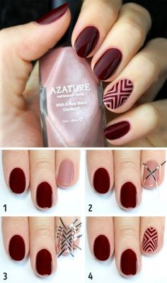 Need some wine nails inspiration? We have new wine colored and wine themed nail designs. Perfect Nails, Gorgeous Nails, Pretty Nails, Hair And Nails, My Nails, Wine Nails, Blush Nails, Nailed It, Nail Polish