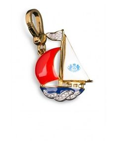 juicy couture sailboat charm