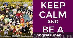 Congrats man   Guess who (anime)