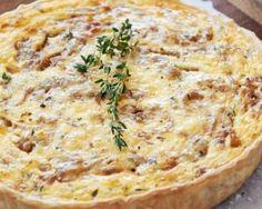Quiche aux oignons nouveaux : http://www.fourchette-et-bikini.fr/recettes/recettes-minceur/quiche-aux-oignons-nouveaux.html