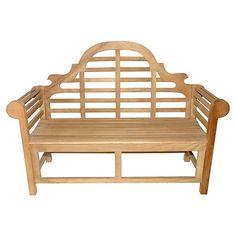 Teak Lutyens Bench $1,149.00
