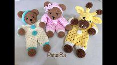 Crochet Lovey, Baby Blanket Crochet, Crochet Toys, Knit Crochet, Amigurumi Tutorial, Amigurumi Patterns, Crochet Patterns, Baby Lovies, Bebe Baby