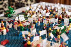 Lego Inspired Table Plan Jennifer & Alan