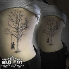 Tree Swing tattoo …