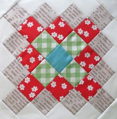 Bee In My Bonnet: The Great Granny Quilt Block Tutorial