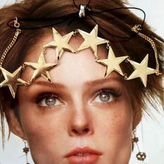 For New Year's Eve -- STAR POWER CHAIN HEADWRAP