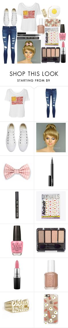"""""""Bailey: August 13, 2016"""" by disneyfreaks39 ❤ liked on Polyvore featuring J Brand, Converse, NARS Cosmetics, Topshop, DIY Nails, OPI, MAC Cosmetics, Essie, Casetify and Skinnydip"""
