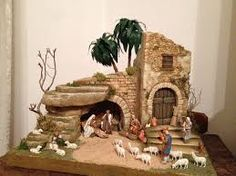Pin by Anita Fernandes on Christmas floral Christmas Cave, Christmas Crib Ideas, Christmas Nativity Set, Christmas Villages, Christmas Wood, Handmade Christmas, Christmas Crafts, Christmas Decorations, Christmas Ornaments