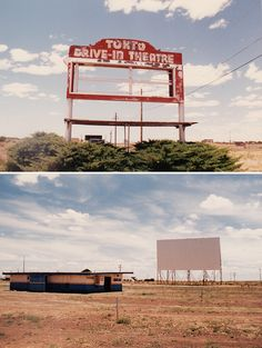The Tonto Drive-In was on the outskirts of Winslow, AZ on old Route 66 and was opened in 1955. I took these photos in 1993 of the abandoned theatre. Photos by Dave Bravenec