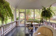 Jackson, SC Plantation Home Renovation & Addition - traditional - porch - atlanta - CHEATHAM FLETCHER SCOTT ARCHITECTS