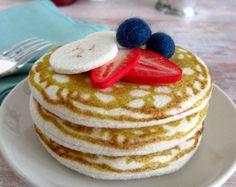 NEW Felt Food Pancakes with Fruit-Banana, Strawberry and Blueberry Felt Crafts Diy, Felt Diy, Crafts For Kids To Make, Kids Crafts, Felt Cake, Felt Cupcakes, Felt Food Patterns, Felt Fruit, Felt Play Food