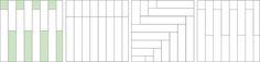 Betonella® LISTONE - Schema di posa