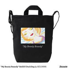 """My Beauty Remedy"" BaGGU Duck Bag"
