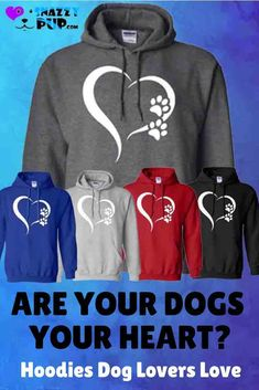 My Dogs My Heart Dogs are proud to see their owners wearing these cute hooded sweatshirts with sayings. With their casual good looks, the. Dog Mom Gifts, Dog Lover Gifts, Dog Lovers, Dog Hoodie, Dog Shirt, Funny Dogs, Funny Boxer, Boxer Dogs, Beagle