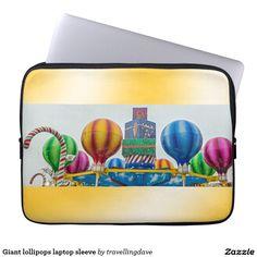 Giant lollipops laptop sleeve