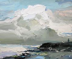 Richard Claremond clouds gathering at coledale beach 35X45, oil on board https://scontent-yyz1-1.xx.fbcdn.net/v/t1.0-0/p403x403/21230877_1665529883519836_6634181971139927971_n.jpg?oh=05f1ef8ff337e1224c1d3e57e84c5d75&oe=5A2912D5