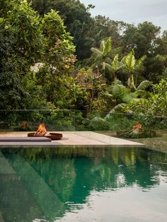Nestled in the dense vegetation on the paulista shore in the region of the Rain Forest, the Jungle House (Casa Na Mata) is designed by Brazilian architecture Studio MK27 to optimize the connection between architecture and nature.
