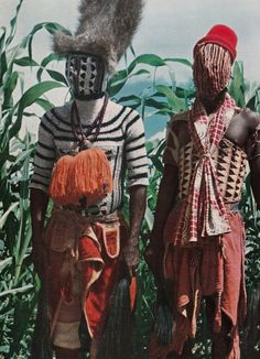 'Mada Tribesmen'. Cameroon | © Jeannette and Maurice Fievet, 1959 - Explore the World with Travel Nerd Nici, one Country at a Time. http://TravelNerdNici.com