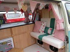 vw campervan interiors - Google Search