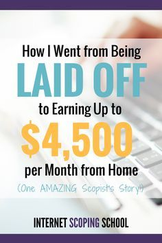 Such an inspiring story! I'm SO intrigued by scoping. I'm definitely going to…