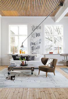 Ylva Skarp´s home.  Photographer Karin Foberg