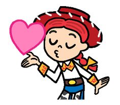 Toy Story (Cute Sketches) | Line Sticker Mobile Stickers, Cute Stickers, Cute Sketches, Cute Drawings, Cartoon Gifs, Girl Cartoon, Dibujos Toy Story, Hug Gif, Toy Story Movie