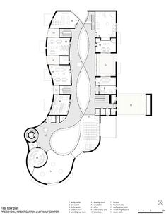 MoDus Architects · Preschool, Kindergarten and Family Center – Educational Architecture Kindergarten Architecture, Education Architecture, School Architecture, Architecture Plan, Kindergarten Projects, Kindergarten Design, Preschool Kindergarten, Kindergarten Worksheets, Multiplication Worksheets