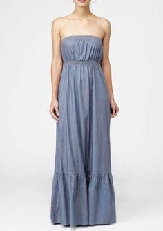 Quicksilver Denim Maxi dress  Country/western wedding bridesmaid ideas