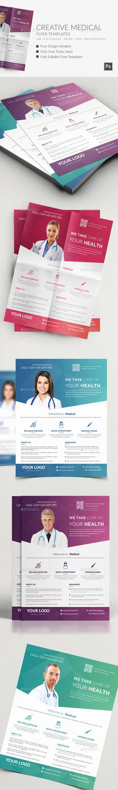 Medical Flyers Template PSD | Buy and Download: http://graphicriver.net/item/medical-flyers-templates-/9641098?WT.oss_phrase=&WT.oss_rank=14&WT.z_author=Hazemtawfik&WT.ac=search_thumb&ref=ksioks