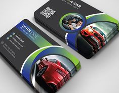 This is a Rent A Car business card. It can be used for who has a selling or rent a car business. Id Card Design, Business Card Design, Logo Design, Graphic Design, Menu Design, Auto Business, Visiting Card Design, Bussiness Card, Catalog Design