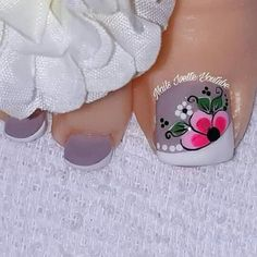 French Pedicure, Toe Nail Designs, Toe Nail Art, Love Nails, Manicure, Jewelry, Veronica, Diana, Angel