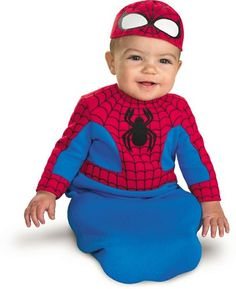 Spiderman Bunting Infant Costume 0 6