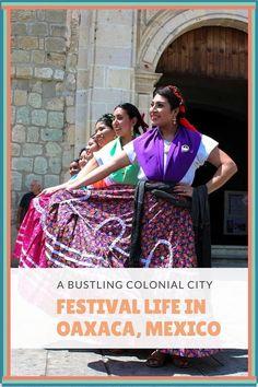 Festival Life In Oax
