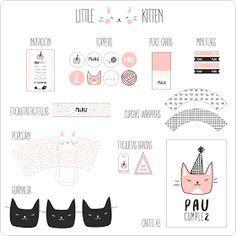 Hoy os traigo una fiesta que cumple con todos los requisitos para ser de tendencia. Un diseño con base en blanco y negro, un toque de rosa ...