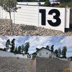 """www.fasaddekor.se på Instagram: """"Stora husnummer syns på stora avstånd! 😄 Välkommen till oss på Fasaddekor.se och få finaste hemmet i kvarteret! 😻"""""""